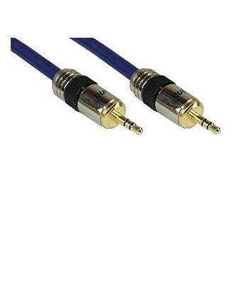 Câble Audio Pro 3,5 mm, 5 m - Stéréo jack (m/m)