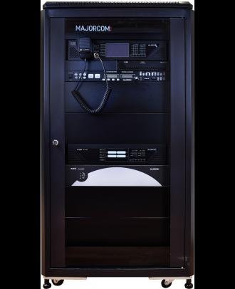 Majorcom - Rack 21u 600x800 en54 monté / testé