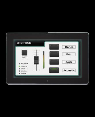 Majorcom - Ecran de controle tactile 10p pour pxn88