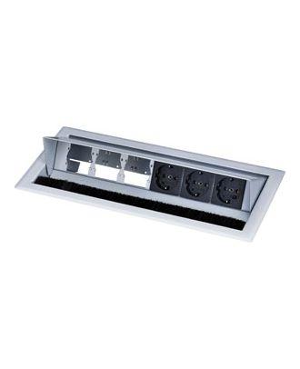 Boîtier de connexion de table CablePort Standard Kindermann 7444000062