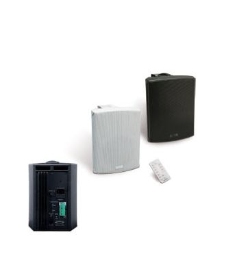 Haut-parleur Activebox Set 50+IR blanc, puissance: 2x30 W RMS