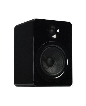 Apart VINCI5 noir - High-end Hifi loudspeaker with shining surface-f