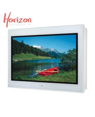 Ecran d'extérieur 4K Haute Lum. Horizon 65p 2000cd/m² - IP65 - Blanc