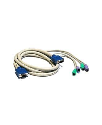 Cordon KVM avec SUB-D15 et USB