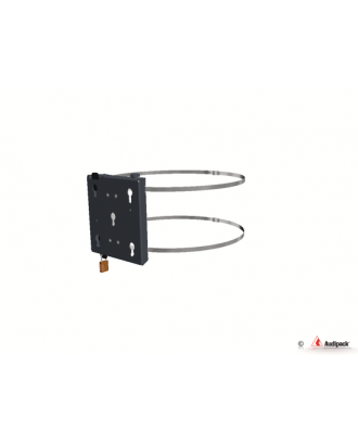 Support pour poteau FKM-5080B Audipack