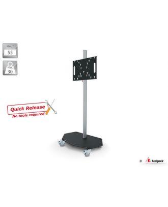 Chariot QR série 700 pour écran 55p max., Multi-VESA, H 1800mm