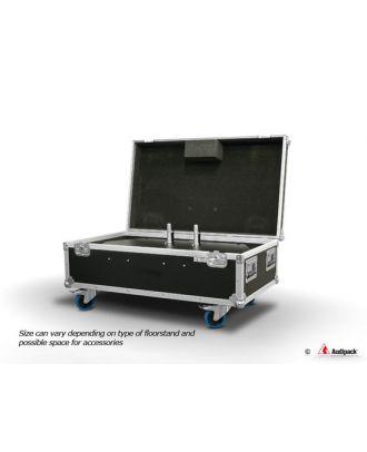 Flightcase pour un pied de sol AUD-390720, 10/10/b+w + PORT