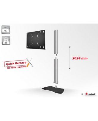 Pied de sol série 900 pour écran 90p max, scratch resistant,MultiVESA