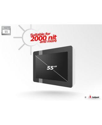 Prix à confirmer - Caisson outdoor IP55 pour écran 55p haute luminos