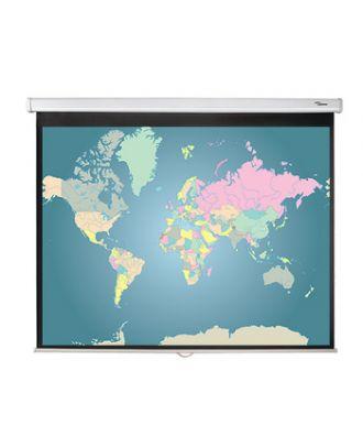 Ecran de projection manuel 4/3 DS-3084 Optoma 128 x 171 cm