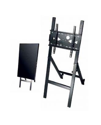 omb - Tréteau métallique pour écran 32 à 55p max VESA 400*400 - Noir