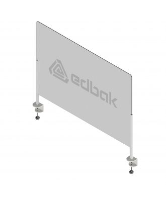 Ecran de protection avec pince et Plexiglas Edbak 50x75