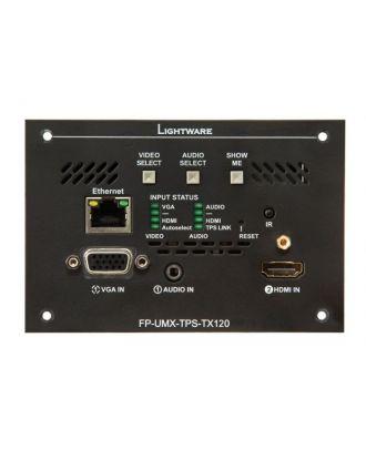 Boitier de sol émetteur HDMI1.4, VGA, Ethernet, RS-232, HDBaseT IR