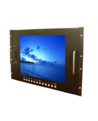 Ecran 15'' en rack HD/SDI