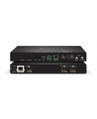 Récepteur HDBT sur CatX HDMI, VGA, DVI, DP, KVM, Eth, RS, IR - 170m