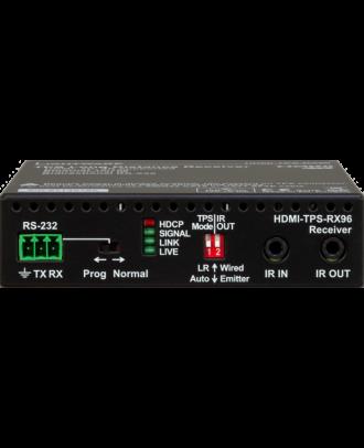 Récepteur HDBaseT sur CatX HDMI1.4 + Ethernet + RS-232 + IR - 170m
