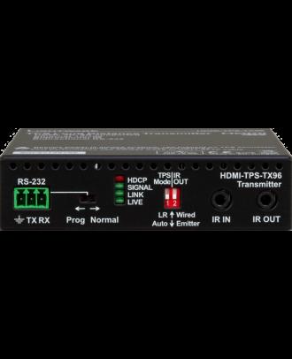 Emetteur HDBaseT sur CatX HDMI1.4 + Ethernet + RS-232 + IR - 170m