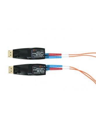 Extendeur DisplayPort 1.2 4K sur fibre 2xLC Opticis DPFX-200-TR