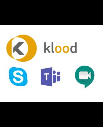 klood Education - Salle virtuelle individuelle - 1an