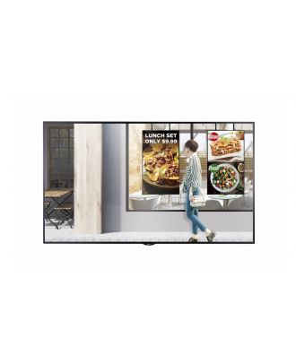 LG - Ecran Vitrine 55p Full HD 24/7 - 2500cd/m² - Noir