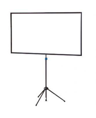 Oray - Ecran ultra-portable Trépied Crossscreen blanc mat 75x133 16/9