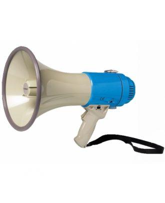 Porte voix avec sirène 25 W Max.