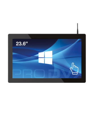 ProDvX - Tablette Intel 23,6p, 4GB DDR3, 64GB, 240cd/m²