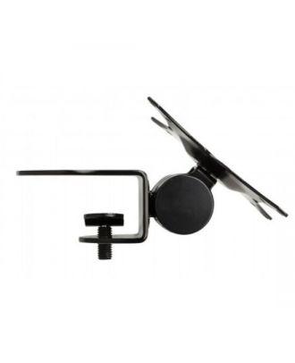 ProDvX - Support d'étagère clampé VESA 75/100 - Inclinable 90 degrés