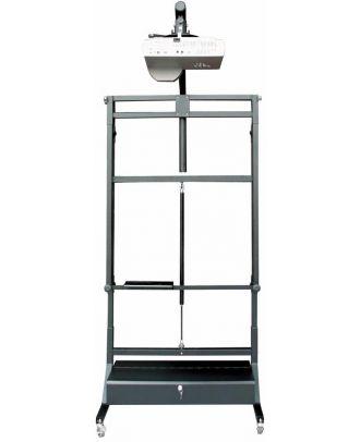 Pied mobile pour tableau blanc pour vidéoprojecteur Noir OMB 36155