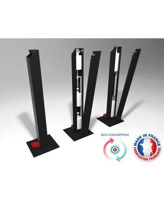iPure - Colonne distributeur gel hydroalcolique sans contact IPURE