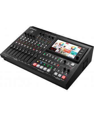Roland - Mélangeur video 4x canaux SDI/HDMI/composite + 6x audio