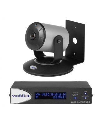 Système WideSHOT Quick-Connect USB - Caméra Noire/Argent Vaddio
